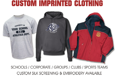 c5936ae93 Located in Timmins, Daystar Stitching & Custom Embroidery provides quality  custom imprinted and embroidered clothing and promotional products to  Timmins and ...